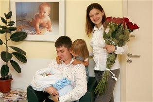 Новый малыш в счастливой семье