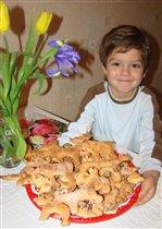 Новогоднее печенье для друзей