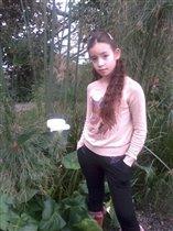 Яна в Ботаническом саду