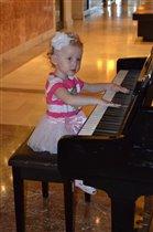 Сольный концерт юной пианистки