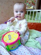 У меня есть барабан, он гремит как ураган!