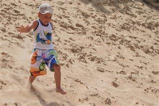 Бег по песочку