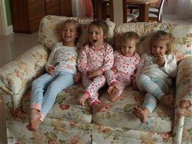 Пижама-party лучших подружек