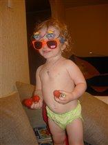 вот так ягодка клубничка