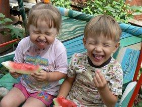 Арбузные дети!