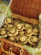 Печенье 'Шампиньоны'