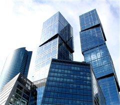 Москва-сити, клетка и кубики
