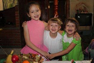 Три подружки - хохотушки!!!