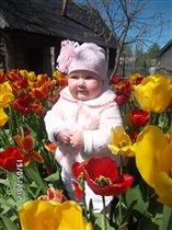 от улыбки распускаются цветы