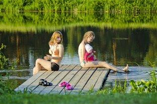 Знакомство с природой - пруд
