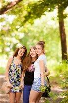 Моя племянница и ее подружки.
