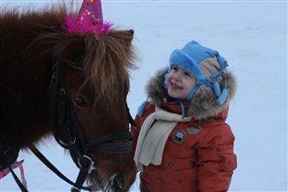 Мама а можно мне такой колпачок как у лошадки?