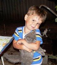 Очень я люблю котёнка - он мурлыкает так звонко!