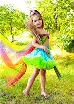 В образе летней феи))