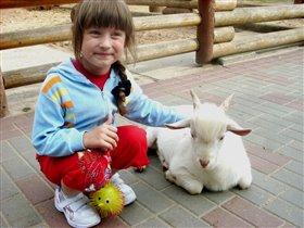 В зоопарке Лимпопо