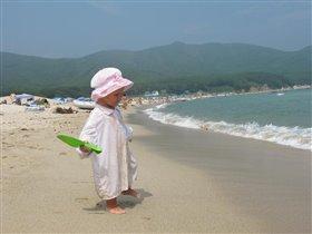 На берегу Японского моря