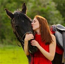 Летнее фото с лучшей подругой ))