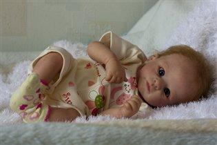 Кукла реборн Ясенька. Продана.