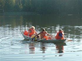 Настойчивость или путешествие по озеру в Финляндии
