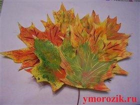 Букет самодельных кленовых листьев от ymorozik.ru