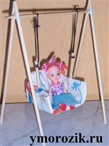 Качели для куклы ymorozik.ru