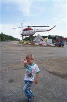 Вот так летают вертолеты!
