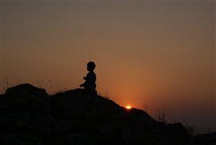Закат на Казантипе