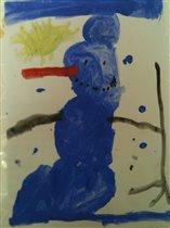 'Новогодний Снеговик'
