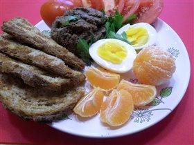 Паштет диетический на завтрак и др.:)
