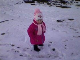 'Я шагаю по зимним следам'