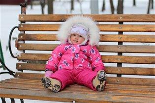 Первый снег Есении