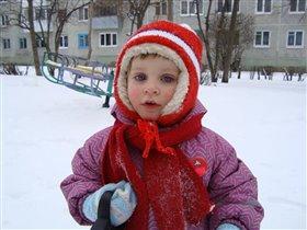 Очень холодно...