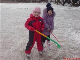 В хоккей играют настоящие девчонки...