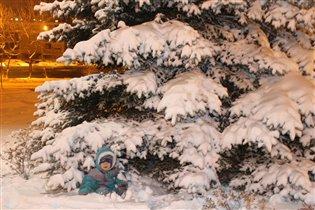 Сашка снеговичок