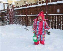 Снежинки ртом ловила...)))