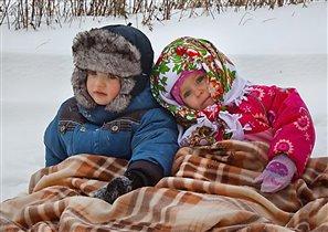 Зима. Что делать нам в деревне?