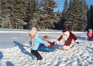 Ну, Дед Мороз, ДОГОНИ!!!!!