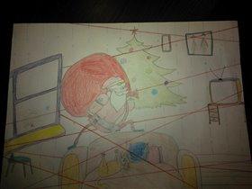 Трудовые будни Санта Клауса)