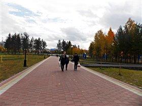 Наша Няганьская осень.