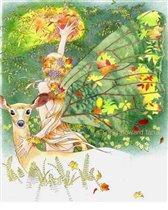 Волшебная осенняя фея