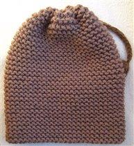 Зимняя мериносовая шапка для грудничка