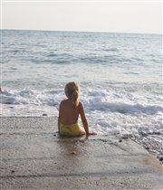 Прощание с морем,прощание с летом!