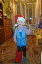 Гномик Олеся к встрече Нового Года готова!!!