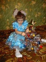 Катюша готовится к Новому году!