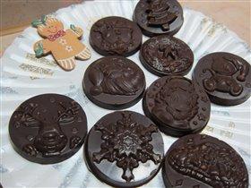 просто шоколадные медальки