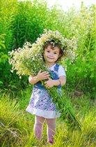 Я с цветами в летний солнечный денёк...