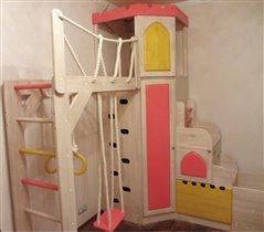 Спортивный замок от Полосатой Лошадки