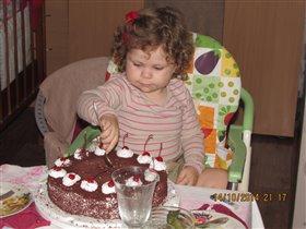 Доченьке 2 годика,урааааа)))