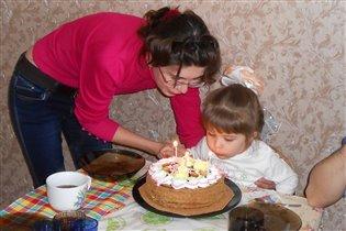 день 3-х летия дочки!