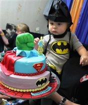 тортик супергероя...
